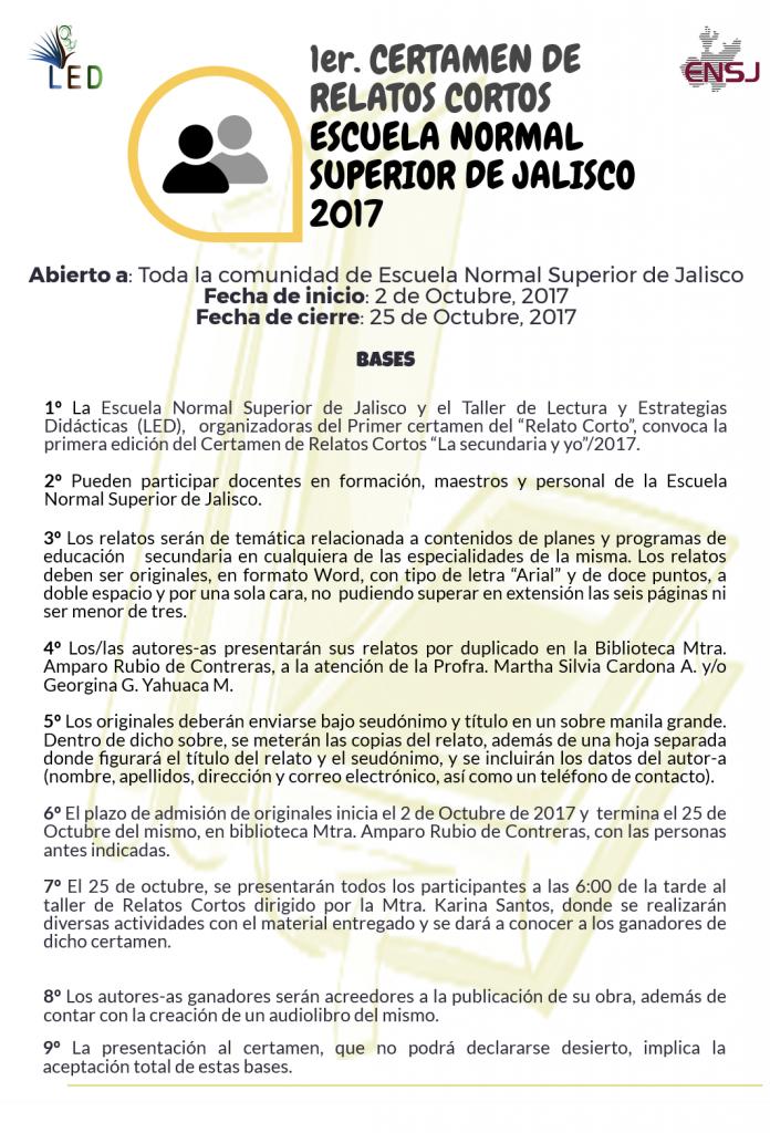 Noticias – Escuela Normal Superior de Jalisco / Licenciaturas en ...